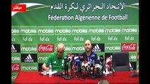 Conférence de Belmadi avant Togo-Algérie