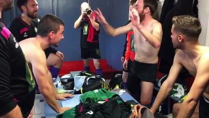 1ère victoire de l'équipe C contre Luthenay