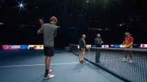 ATP - Nitto ATP Finals 2018 - La correction de Kevin Anderson à Kei Nishikori : 6-0, 6-1