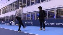 Masters - Le concours de jonglage entre Thiem et Willian