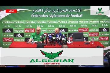 Conférence de presse de Djamel Belmadi au complet