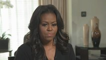 """Michelle Obama: Trump won """"because a lot of people came to the polls and a lot of people didn't"""""""