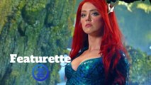 Aquaman Featurette - Behind the Scenes (2018) Amber Heard Action Movie HD