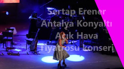 Sertab Erener... ANTALYA'DA EUROVİSİON RÜZGARLARI!