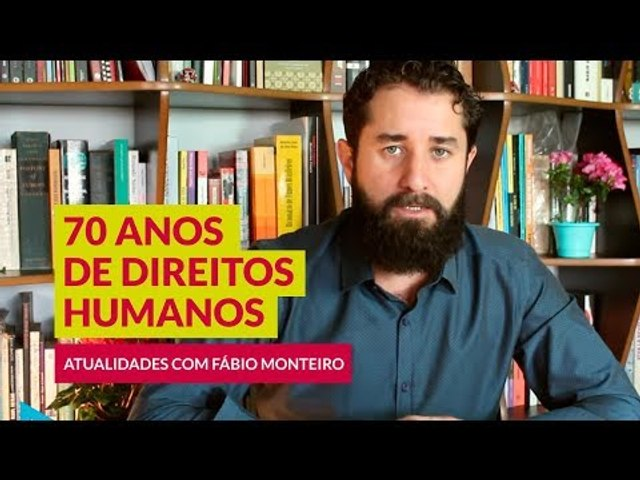 REVISÃO Vestibular UNICAMP   70 ANOS de DIREITOS HUMANOS