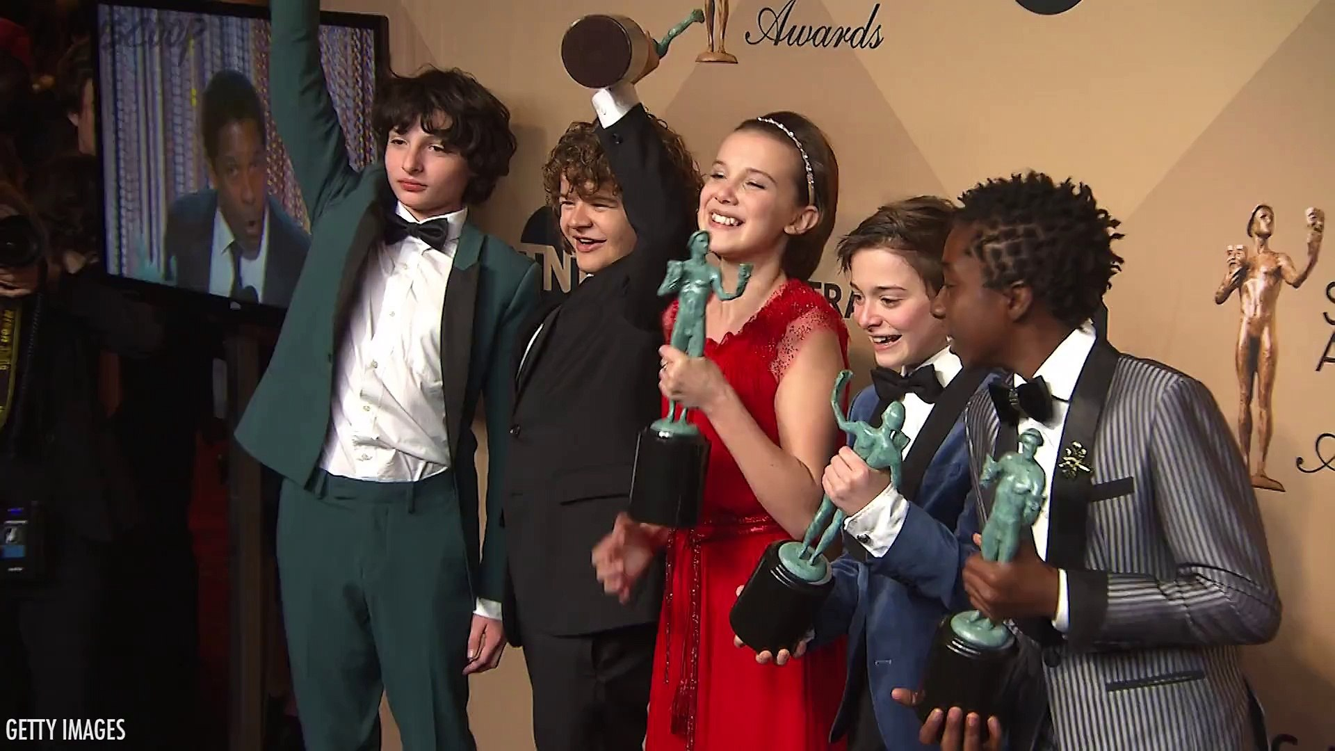 MIllie Bobby Brown In Tears During Wrap Of Stranger Things Season 3 Production