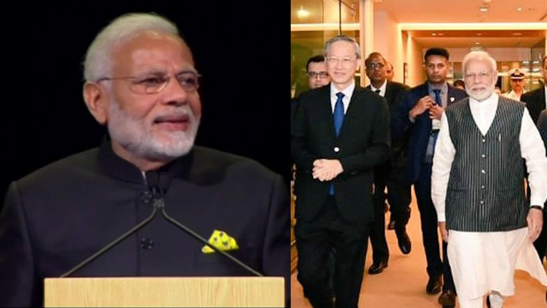 PM Modi in Singapore: Fintech Festival में PM Modi ने दी की नोट Speech । वनइंडिया हिंदी