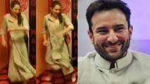 Sara Ali Khan Dances on Saif Ali Khan's Ole Ole song during Kedarnath Promotions; Watch | FilmiBeat