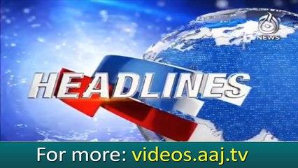 Headlines 10:00 – 14 November 2018   Aaj News