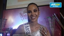 Miss Universe Philippines on her preparations