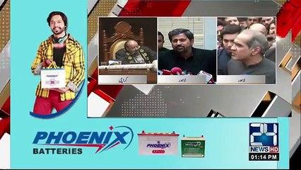 Khawaj Saad rafique Media Talk after appearance in Court