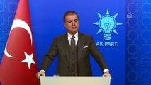 AK Parti Sözcüsü Çelik - İYİ Parti-CHP görüşmesi, AK Parti'nin yerel seçim hazırlıkları - ANKARA