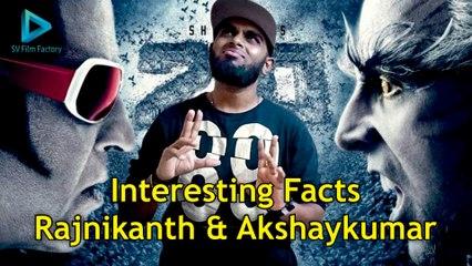 #Rajinikanth VS Akshay Kumar | Robot 2 0 Interesting Facts