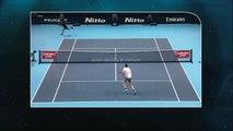 Tennis: Master Londres, Novak Djokovic numéro 1 mondiale à proposer un tennis de grande qualité