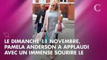 """PHOTO. """"L'amour fou"""" : la tendre déclaration d'amour de Pamela Anderson à son chéri Adil Rami"""