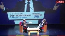 Foire du livre de Brive : François Hollande critique la répartition des richesses