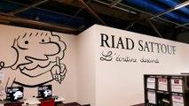 Exposition « Riad Sattouf, l'écriture dessinée » à la Bibliothèque du Centre Pompidou à Paris