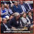 « Nous allons mettre en oeuvre le Brexit et le Royaume-Uni va quitter l'UE le 29 mars 2019 », martèle Theresa May