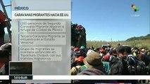 teleSUR noticias. Migrantes centroamericanos llegan a Tijuana