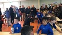 Les jeunes du Sablé FC ont rencontré les joueurs du SCO d'Angers lors d'une dédicace