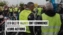 """Sans attendre le 17 novembre, des """"gilets jaunes"""" commencent le blocage des routes"""