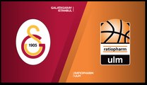 Galatasaray Istanbul - ratiopharm Ulm Highlights | 7DAYS EuroCup, RS Round 7
