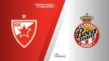 Crvena Zvezda mts Belgrade - AS Monaco Highlights   7DAYS EuroCup, RS Round 7