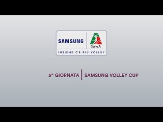 Preview 5^ giornata | Samsung Volley Cup 2018/19