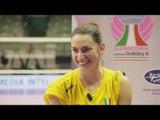 Googlata con Raphaela Folie | Imoco Volley Conegliano | SuperCoppa Samsung Galaxy A 2018