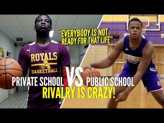 """Everybody's Not Ready For That Life"" NY Public School vs Private School RIVALRY Is CRAZY!"