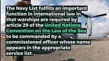What is NAVY LIST? What does NAVY LIST mean? NAVY LIST meaning, definition & explanation