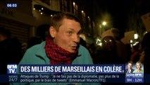 """""""La ville est à l'abandon total"""", 8000 Marseillais ont manifesté contre  Jean-Claude Gaudin"""