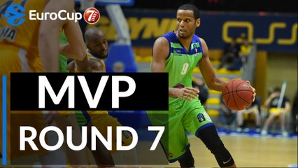 Round 7 co-MVPs: Sammy Mejia, Tofas and Landing Sane, Mornar