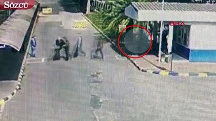 Lastik İş Genel Başkanı Abdullah Karacan'ın vurulmadan hemen önceki son anları kamera