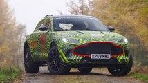 VÍDEO: El primer SUV de Aston Martin, el DBX ¡en movimiento!