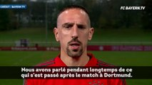Bayern Munich : les excuses officielles de Franck Ribéry