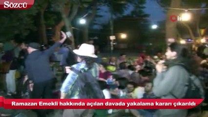 Gezi'de 'çadırları yakın' talimatı veren Emniyet müdürü hakkında yakalama kararı