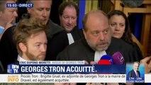 """Georges Tron acquitté: """"Nous espérons qu'une page se tourne"""", déclare son avocat Eric Dupond-Moretti"""