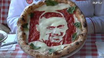 Neymar or Cavani? Get a pizza with a portrait of your favourite footballer
