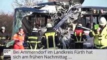 Allemagne : Collision frontale entre deux bus scolaires près de la ville d'Ammerndorf - Une quarantaine de blessé
