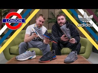 adidas x TFL London Underground Pack   Review and Unboxing   ZX500 RM   Contiental 80   Temper Run