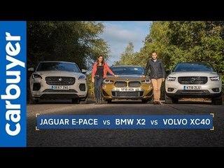Batch & Ginny: BMW X2 vs Jaguar E-Pace vs Volvo XC40 - Carbuyer