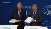 EU lawmakers optimistic about Brexit deal
