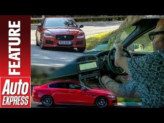 New 2018 Jaguar XE 300 Sport takes on the lost French Grand Prix circuit
