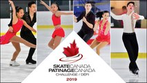 Rink A: 2019 Skate Canada Challenge / Défi Patinage Canada 2019