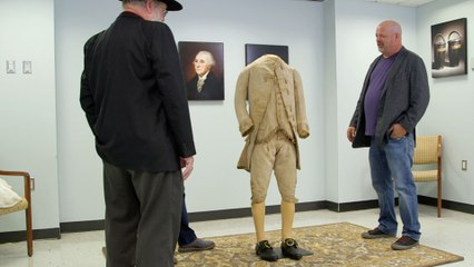 Pawn Stars: George Washington's 3-Piece Suit