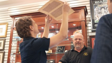 Pawn Stars: A Leaf of the Gutenberg Bible