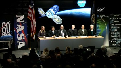 Pre-Launch News Conference for Antares Cygnus NG-10 Launch