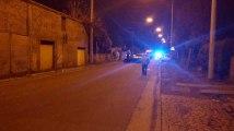 Ghlin : accident : une voiture dans une conduite de gaz. Vidéo 1/2. Eric Ghislain