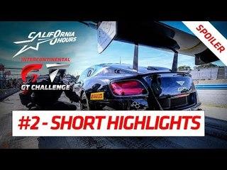 #2 SHORT HIGHLIGHTS (Spoiler) - California 8 Hours - 2018 Intercontinental GT Challenge Final